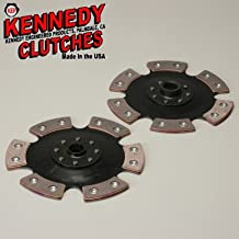 Kennedy 6 Puck Clutch Double Disc 200mm 8 Inch Diameter For VW 13/16 Inch 24 Spline