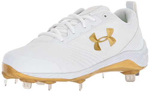 Under Armour Frauen Ua W Glyde St Low & Mid Tops Schnuersenkel Baseball Schuhe Weiss Groesse 5.5 US /36 EU