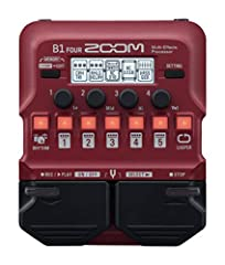 65 built-in bass effects and 9 amp models Free download of Zoom guitar lab Mac/Windows software 30-Second looper 68 built-in rhythm patterns Standard Guitar input, aux input for external audio players and amp/headphone output