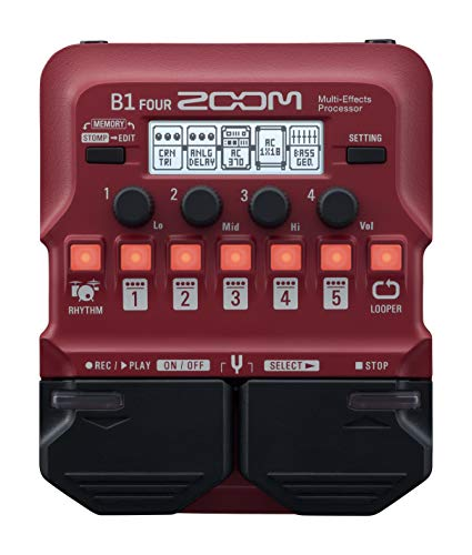 Zoom Bass Multi-Effects Pedal (B...