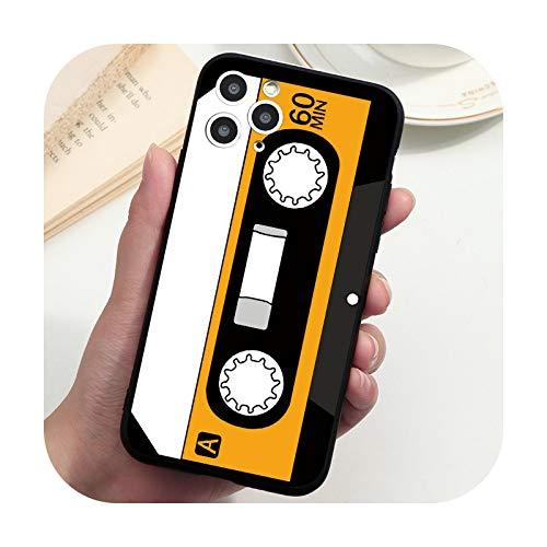 Funda vintage con cinta de cassette para Samsung S21 S20 FE Note 20 Ultra 10 8 9 S10 S9 S8 A6 Plus A7 A8 A9 A5 2018 2017 S10e Cover-cd60hu-S20 Ultra