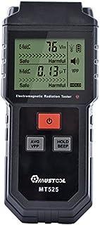 Mustool MT525 - Medidor para radiaciones electromagnéticas, campo eléctrico y medidor de campo magnético,