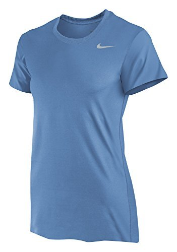 Nike Women's Dri-Fit Legend Short Sleeve T-Shirt (Small, Valor Blue)