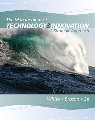 The Management of Technology and Innovation: A Strategic...
