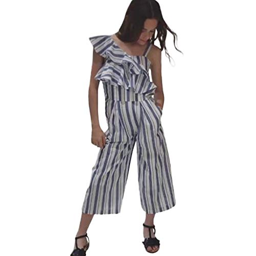 Julhold Baby Kind Meisje Mode Casual Ruches Gestreepte Comfortabele Dreathable Panty Jumpsuit Kleding Zomer 2019