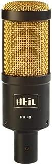Heil PR40 Black w/ Gold Grille