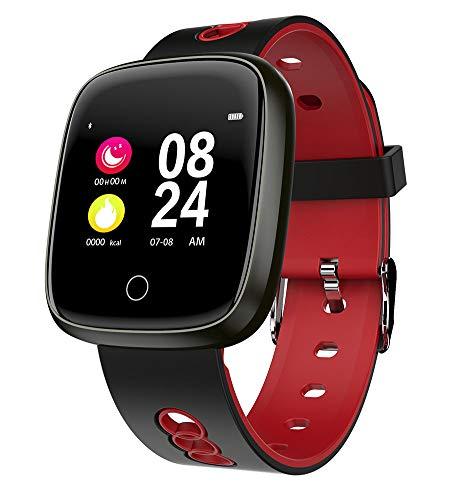 YAALO Smart Horloge Voor Mannen Vrouwen Smartwatch Met De hele dag Hartslag Bloeddruk Monitor Sport Hardlopen Armband Activiteit Tracker Vergelijk Voor Android & IOS telefoons