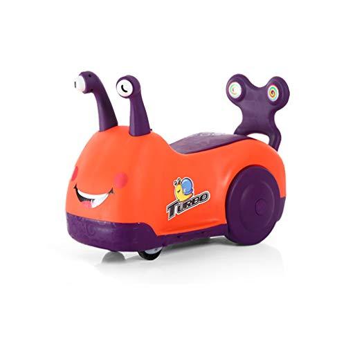 Twist Car Baby Baby Scooter Toy Car Walker Enfants Voiture d'équitation Yo Car FANJIANI (Couleur : Orange)