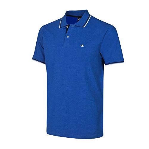 Champion Herren Poloshirt Polo Gallery (Mazarine Blue), Größe:L