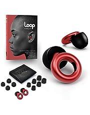 Loop Öronproppar – perfekt för arbete, studier, motorcykel, konserter och total brusreducering – högt blir tyst – 20 dB högtroget hörselskydd – återanvändbar silikon och skumspetsar