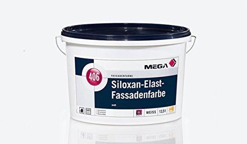 Original Mega 406 Siloxan Elast Fassadenfarbe / Farbe für aussen