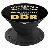 DDR Ostdeutschland Osten Ostalgie Ossi Ostdeutscher Geschenk - PopSockets Ausziehbarer Sockel und Griff für Smartphones und Tablets