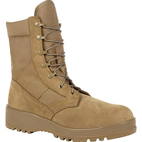 Rocky Entry Level Hot Weather Military Boot Coyote Brown