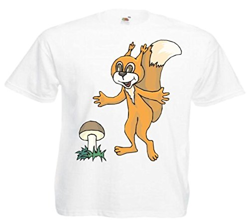 Fun T-shirt eekhoorntje geluk cartoon fun film series film