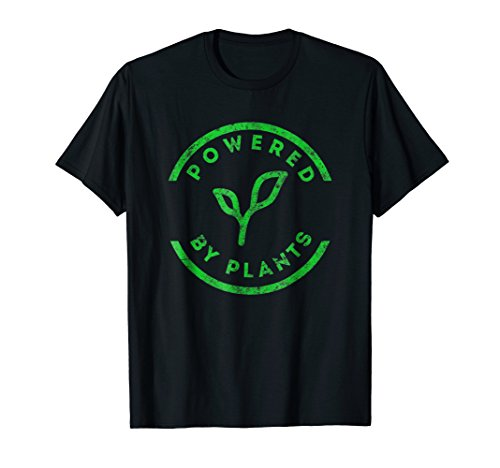 Powered By Plants T-Shirt Vegan Workout Shirt