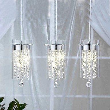 L-S Moderne kroonluchter plafondverlichting hanger met glazen scherm G4 lamphouder kunst kristallen kroonluchter 3C Ce FCC RoHS voor woonkamer slaapkamer