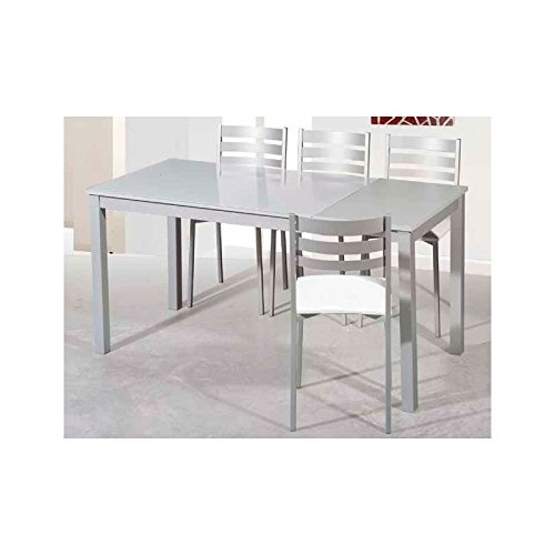 Amuebla 901. Mesa DE Cocina Extensible DE 100 X 60 CM.