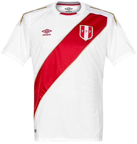 Umbro 2018-2019 Peru Home Football Shirt (Kids)