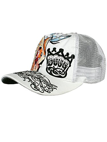 L.A. Fresh® Unisex Designer Trucker Strass Chapeau Cap - Praying Hands -