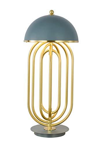 CGC Hoge kwaliteit luxe grote grijze tafellamp