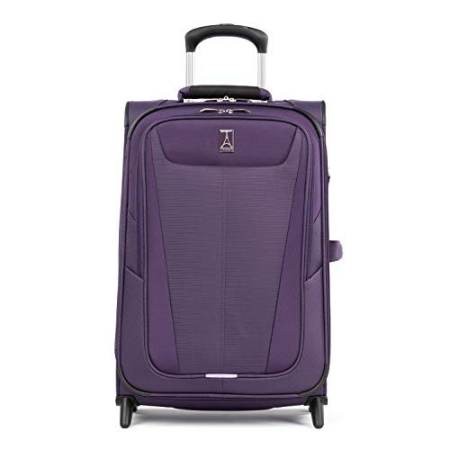 Travelpro Maxlite 5-Softside Lightweight Expandable Upright Luggage, Imperial Purple, Carry-On 22-Inch