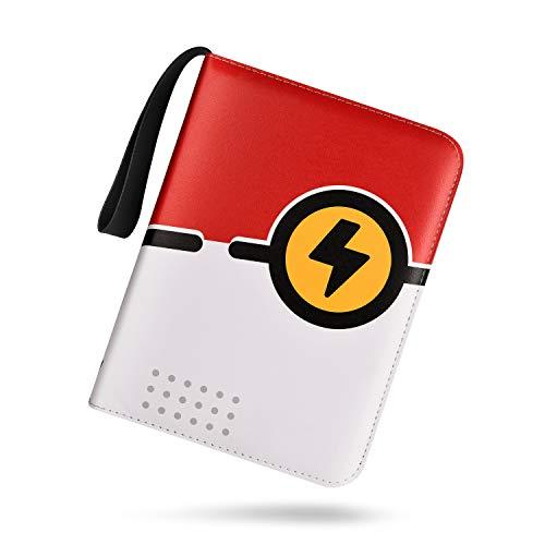 TONESPAC Premium 400 Pocket Sammelalbum , Sammelkartenalben, Buch Tragetasche Ordner mit 400 Kartenkapazität, Kartenhalter für YuGiOh usw (Donnerring)