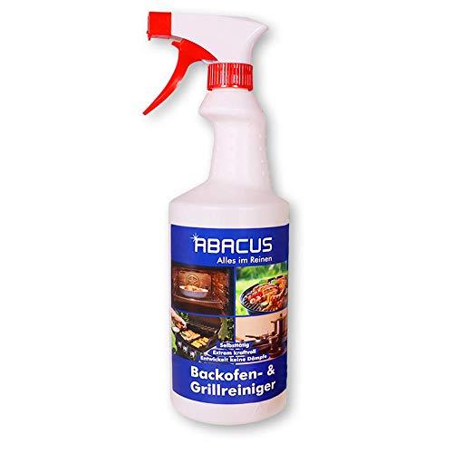 ABACUS 750 ml Backofenreiniger Grillreiniger Destine Herdreiniger Ofenreiniger Grillrostreiniger Pfannenreiniger(4045)