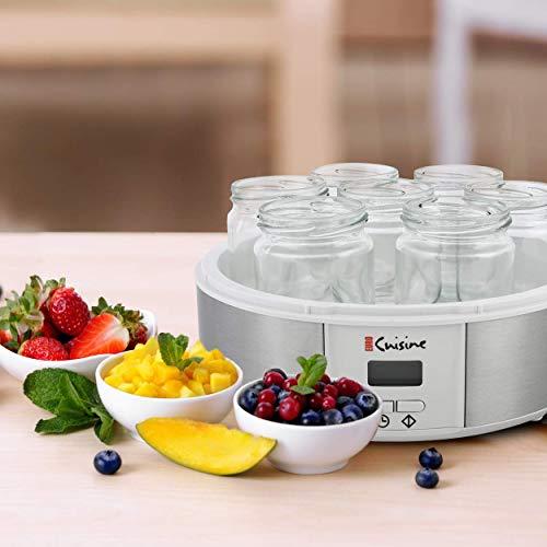 Euro Cuisine Yogurt Maker - 7 × 6 oz - Digital