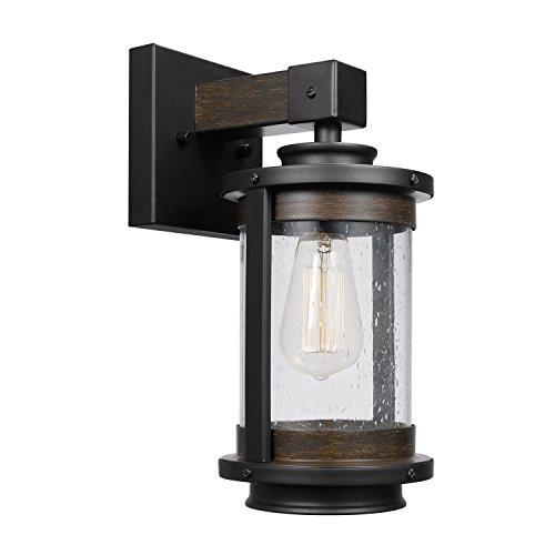 lámpara pared madera fabricante Globe Electric