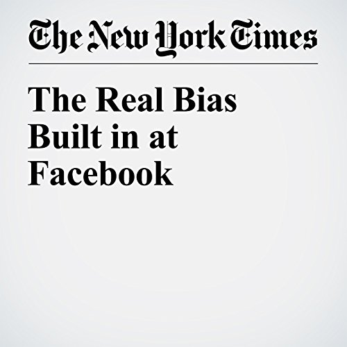 The Real Bias Built in at Facebook audiobook cover art