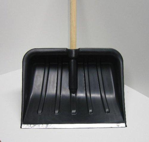 Schneeschaufel, Schneeschieber Lawinenschaufel Schaufel mit Stahlkante - 6