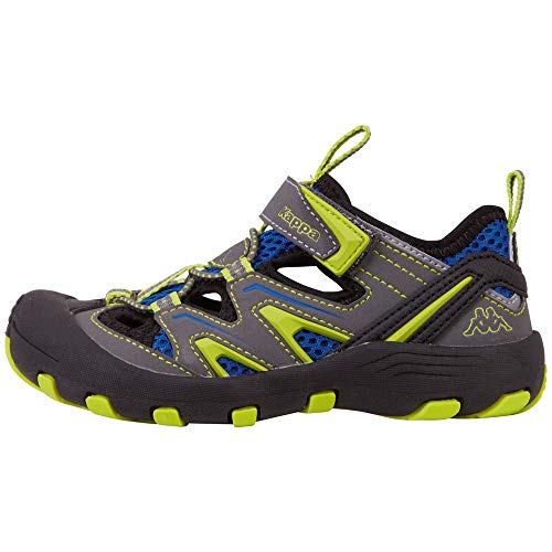 Kappa Unisex-Kinder Reminder Sneaker, Grau (Grey/Lime 1633), 32 EU