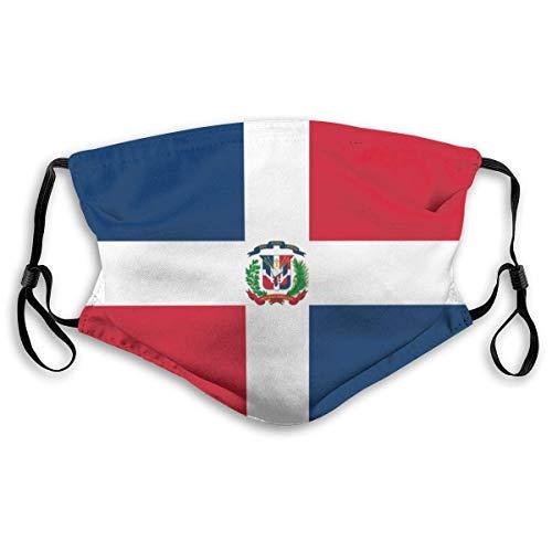 Flagge der dominikanischen Republik Mann 'S Mans und Frauen Filter verstellbare Masken