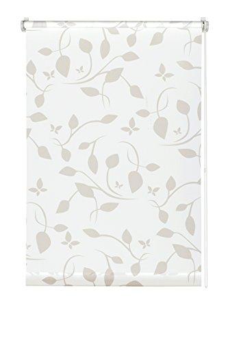 Gardinia EASYFIX Rollo Dekor 100 Scandinavian weiß/natur 100 x 150 cm