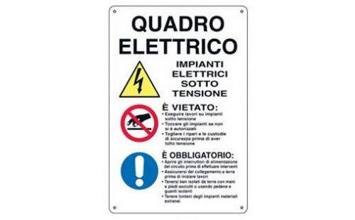 Giemmeargenta placa-Cuadro eléctrico 43 x 68 cm
