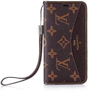 Galaxy S9 Plus Flip Case -Elegant Luxury Wallet Cover Wristlet Strap Designed