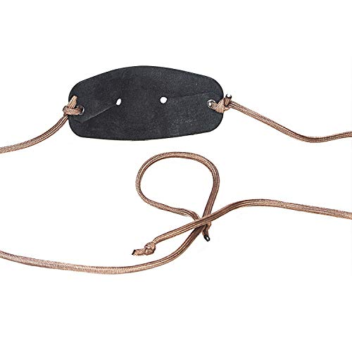 EASYANT Handmade Leather Pouch Shepherd Sling Old-Fashioned Slingshot