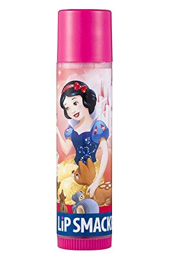Lip Smacker, Colección Princesas Disney, Bálsamo Labial Hidratante Infantil Disney Blancanieves, Hidratante Labios Sabor Beso de Cereza, Envase Individual 21 g