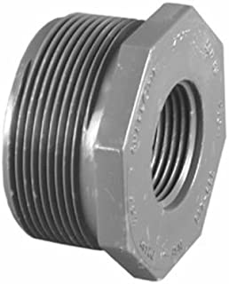 Mueller Industries #5839-131 1x3/4 Pvc Mpt Bushing by Charlotte Pipe & Found