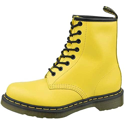 Dr. Martens 1460w, Stivali da Neve Donna, Giallo (Yellow 24614700), 40 EU