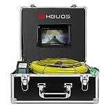 Telecamera per Tubi 20M, Video ispezioni Endoscopio Pipeline Industriale Impermeabile IP68...