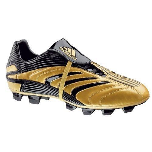 adidas Fußballschuh +Absolado FG, Größe 11, gold/schwarz