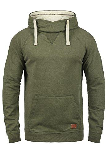 Blend Sales Herren Kapuzenpullover Hoodie Pullover mit Kapuze, Größe:S, Farbe:Ivy Green (77026)