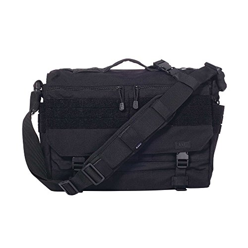 5.11 Rush Delivery Messenger Bag Schultertasche - 019 Schwarz