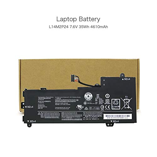 szhyon 7.6V 35Wh 4610mAh L14L2P22 L14M2P24 L14S2P22 Laptop Battery compatible with Lenovo E31-70 E31-70 E31-80 IdeaPad 510S IdeaPad 510S-13IKB PC