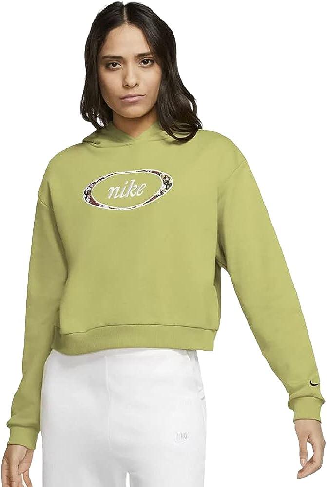 Nike Women's Plus Size Sportswear Fleece Crop Hoodie (Tea Tree) Size 3X