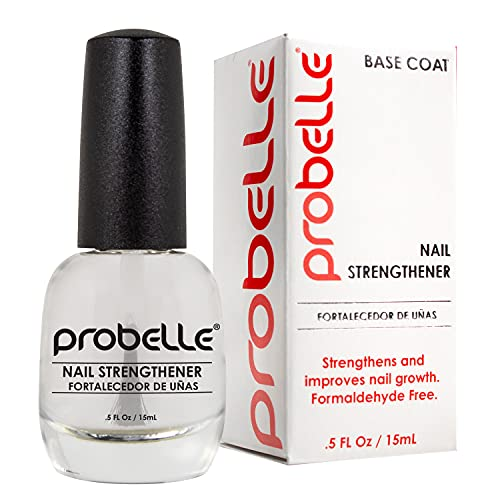 Probelle Nail Strengthener, Nail Strengthening Treatment, Nail Growth and Repair, Stops Peeling, Splits, Chips, Cracks, and Strengthens Nails