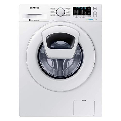 Samsung Elettrodomestici WW70K5410WW/ET Lavatrice AddWash, 7 kg, 1400 RPM, 74 Decibel, Bianco