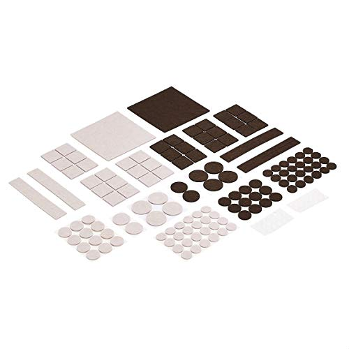 166-Piece AmazonBasics Self-Adhesive Felt Furniture Pads  $6.15 at Amazon