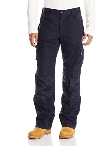 Caterpillar Men's Trademark Pant (Regular and Big & Tall Sizes), Navy, 36W x 32L